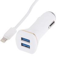 خرید شارژر فندکی USB , با کابل مخصوص