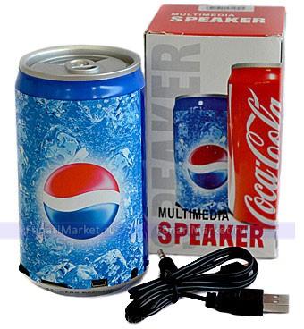 خرید اسپیکر بلوتوث طرح پپسی , با گارانتی