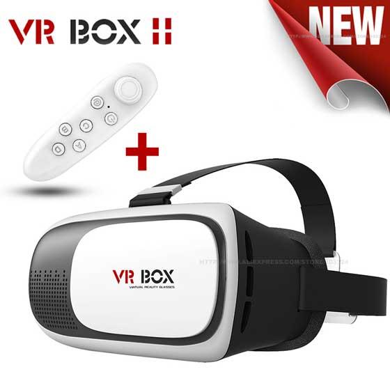 خرید هدست واقعیت مجازی VR BOX 2