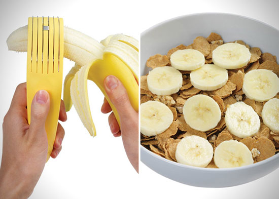 banana slicer 9 خردکن و حلقه کن موز banana slicer